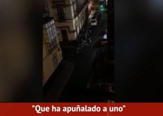 Gritos tras la pelea de Sevilla: