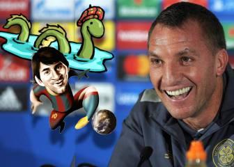 Messi y el Lago Ness: ¿conocen una pregunta más surrealista?