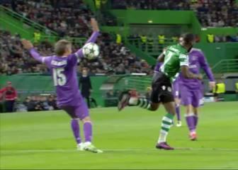 El colmo de los penaltis: ¡mano de Coentrao por reclamar otra!