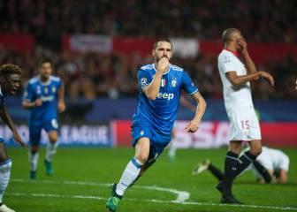 La Juventus remonta al Sevilla y complica el pase hispalense