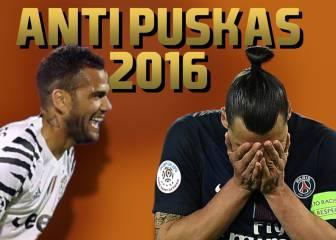 TOP-10 Anti Puskas: ¿cuál ha sido el gol más feo del año?