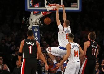 Resumen del New York Knicks - Portland Trail Blazers