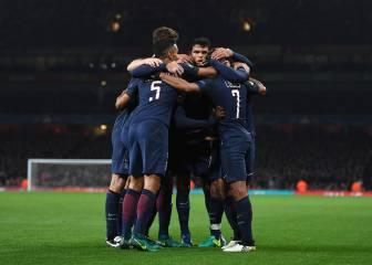 El PSG sale líder del Emirates tras empatar ante el Arsenal