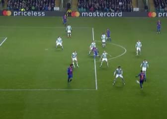 Oro puro: el gol que crearon de la nada Neymar y Messi
