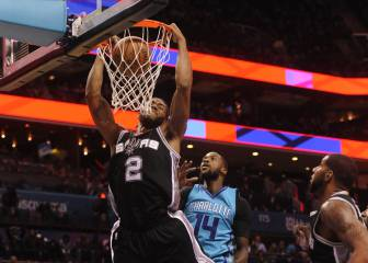Resumen de Charlotte Hornets - San Antonio Spurs
