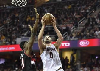 Resumen de Cleveland Cavaliers- Portland Trail Blazers