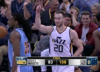 Resumen de Utah Jazz - Denver Nuggets