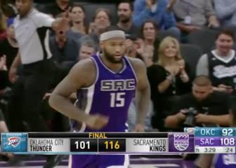 Resumen de Sacramento Kings - Oklahoma City Thunder