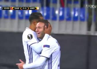 Resumen y goles del Gabala - Anderlecht de Europa League