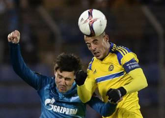 Resumen y goles del Zenit - Maccabi de Europa League