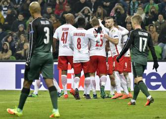 Resumen del Krasnodar - Salzburgo de Europa League