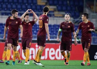 Resumen y goles del Roma-Plzen de Europa League