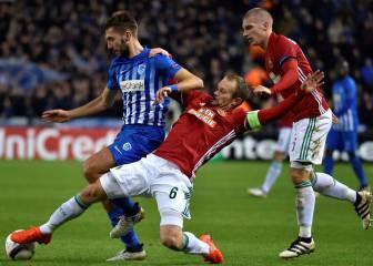El GENK firma su pase con un solitario gol de Karelis