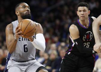 Resumen de Detroit Pistons - Los Ángeles Clippers