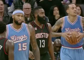 Resumen de Sacramento Kings . Houston Rockets
