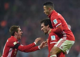 Thiago y Hummels hacen sonreír de nuevo al Bayern