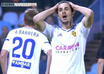 El Zaragoza rasca un empate que le sirve de muy poco