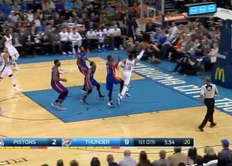 Westbrook es de otro planeta: logra su triple-doble 44