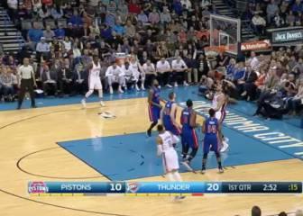 Resumen de Oklahoma City Thunder - Detroit Pistons