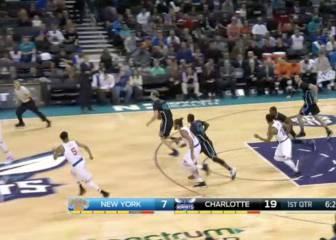 Resumen de Charlotte Hornets-New York Knicks