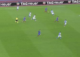 Impresiona ver la jugada de Neymar en el 1-1 de Messi