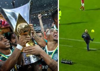 Del Palmeiras campeón al 'entrenador Ronaldinho'