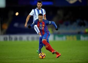 El rey del eslalon Neymar: goles y jugadas en carrera
