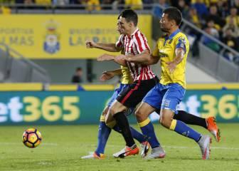 Jonathan Viera sentencia al Athletic en Gran Canaria