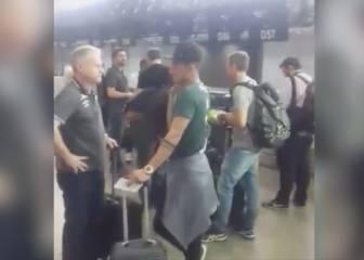 El vídeo del Chapecoense minutos antes de subir al avión
