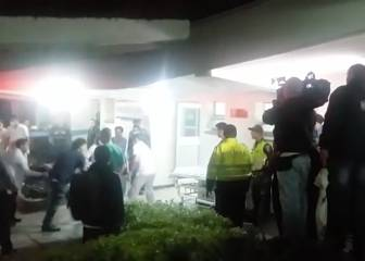 'Severely injured' Chapecoense players arrive at hospital