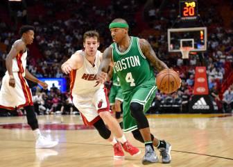 Loa números de Dragic no fueron suficiente ante Celtics