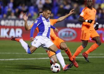 Primer gol de Machís con el Leganés y es una obra de arte