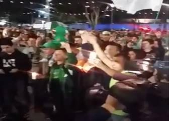 Muy emotivo: el cántico de los hinchas de Nacional a 'La Chape'