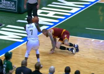 ¿Es la rotura de tobillos más lenta de la historia de la NBA?