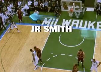 EEUU se mofa de JR Smith: ¡se va a saludar y le meten canasta!
