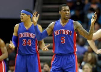Resumen del Charlotte Hornets - Detroit Pistons de la NBA