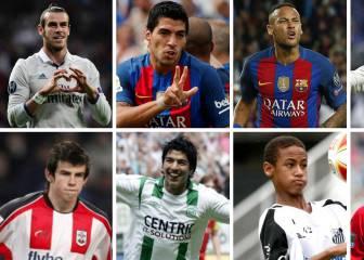 ¿Dónde estaban los cracks de Madrid y Barça hace 10 años?