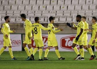 El Villarreal, con un pie en octavos tras ganar al Toledo