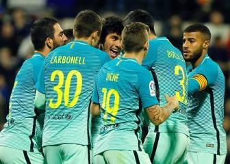 Aleñá rescata a un Barça gris ante un aplicado Hércules