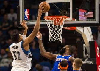 Towns y sus 47 puntos a los Knicks... ¡No hay quien le pare!