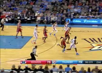 Westbrook fuerza la prórroga y gana el partido a los Wizards