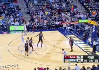 Whiteside (25+16) comanda la victoria de los Heat en Denver