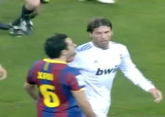 Aquel Ramos que se desató en Barcelona: patadón a Messi