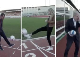 Van der Vaart y su novia 'se vengan' de la prensa: ¡pelotazo!