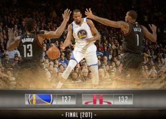 ¡Partizado! Los Rockets ganan en dos prórrogas a los Warriors