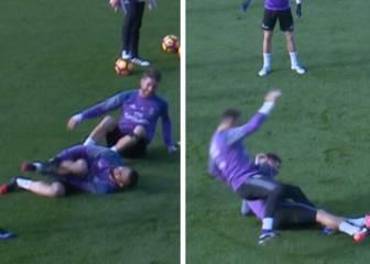 Ramos va con todo al Clásico: ¡Qué segada le pegó a Nacho!