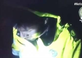 Salen a la luz las imágenes del rescate de un superviviente