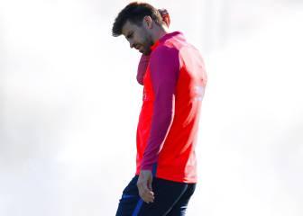 Los líos de Piqué ante el Madrid que más dieron que hablar