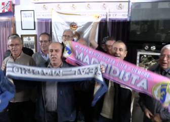 La peña Juanito de Barcelona, lista para el Clásico