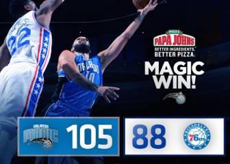 Resumen del Philadelphia 76ers - Orlando Magic